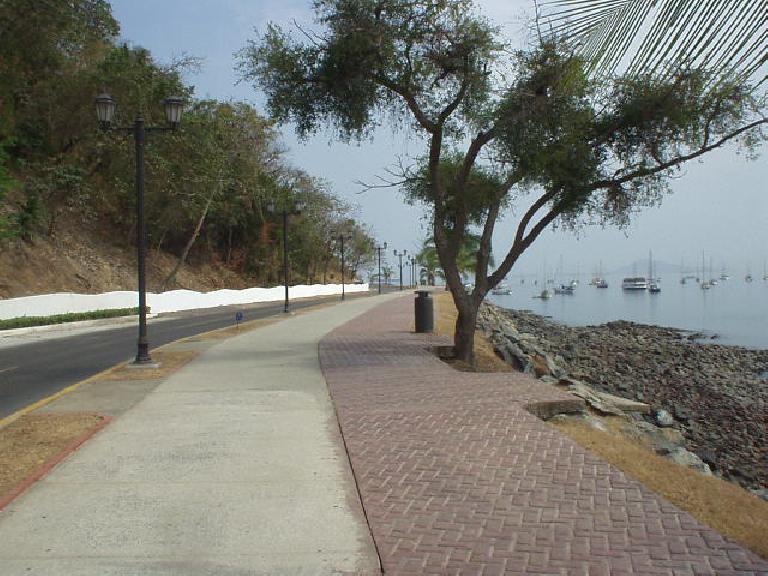 The road to the Marino de Flamenco. (March 10, 2007)