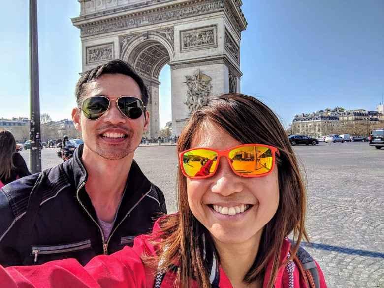 Felix Wong, Angeline Tan, Arc de Triumph