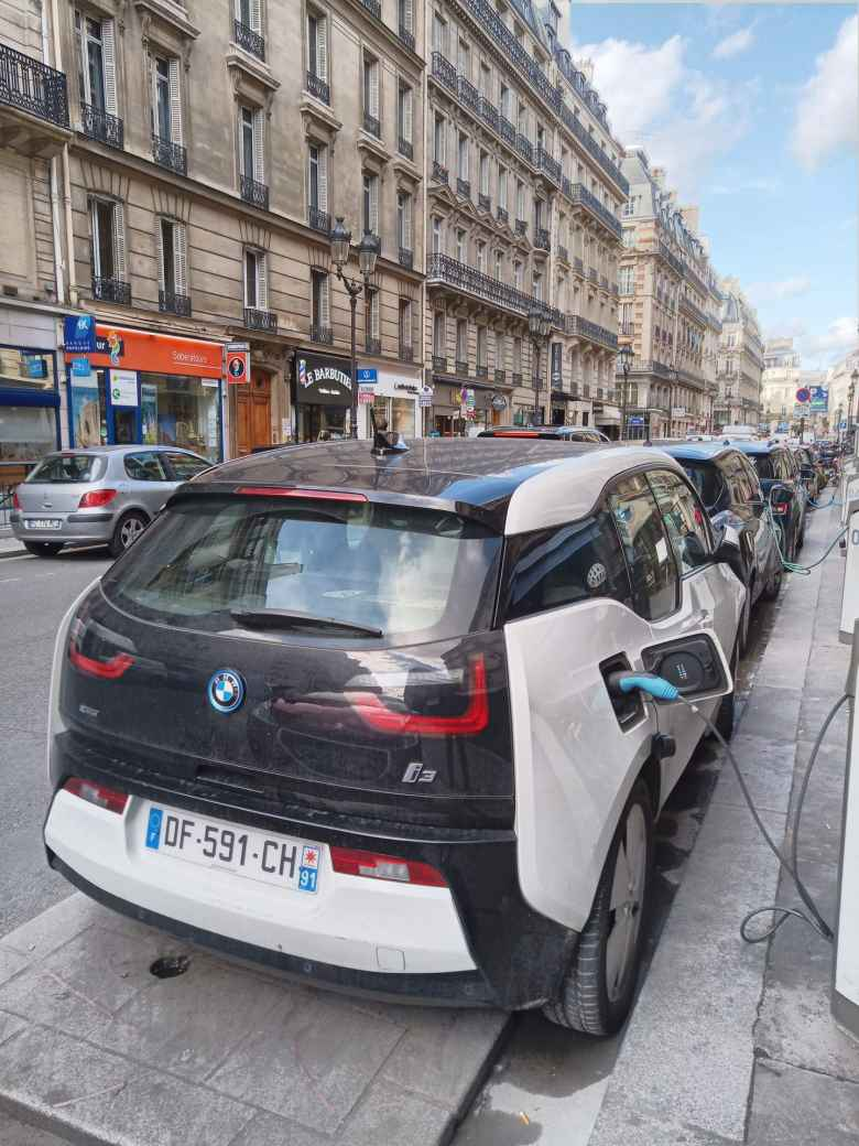 BMW i3 in Paris
