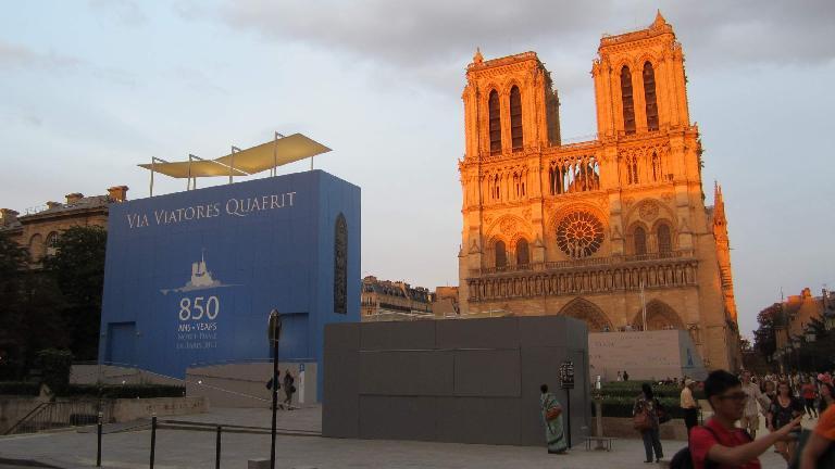 Notre-Dame de Paris. (August 6, 2013)