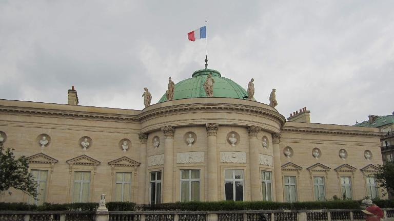 National Museum of the Legion of Honor & Orders of Chilvary next to le Mus̩e d'Orsay. (August 7, 2013)