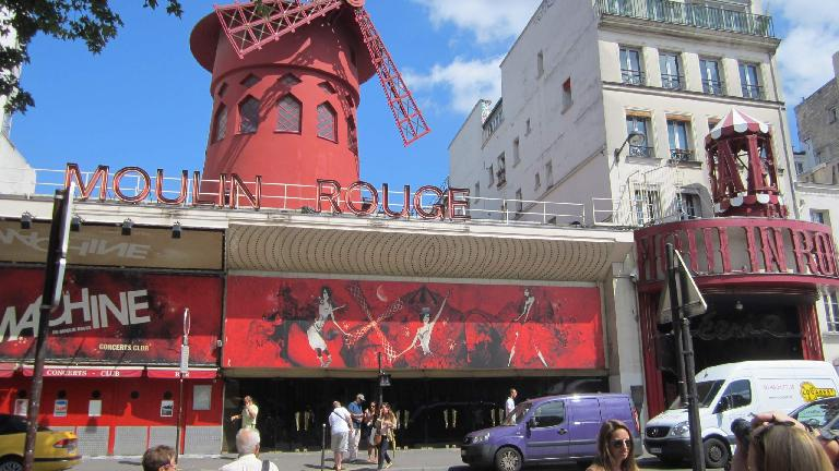 The Moulin Rouge. (August 8, 2013)