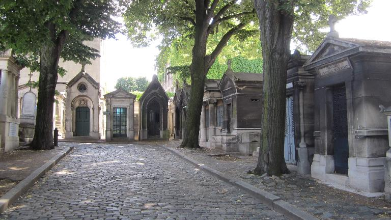 The Montmartre Cemetery. (August 8, 2013)