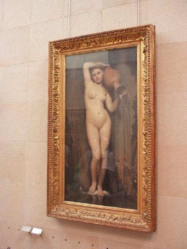 [Orsay Museum] Soft porn of the 19th century?  This is a stunning painting by Ingres called La Source.  It is absolutely gorgeous!