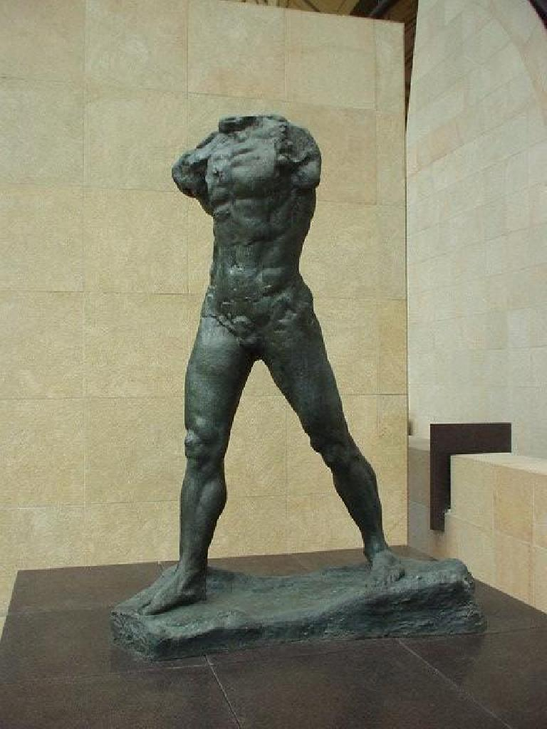 [Orsay Museum] The Orsay Museum houses a few of Rodin's works.  I believe there are more of Rodin's works near L'Orangerie in Paris.  There's also a significant collection in the Stanford Art Museum in California!