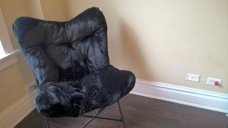 Room Essentials Faux Fur Chair from Target