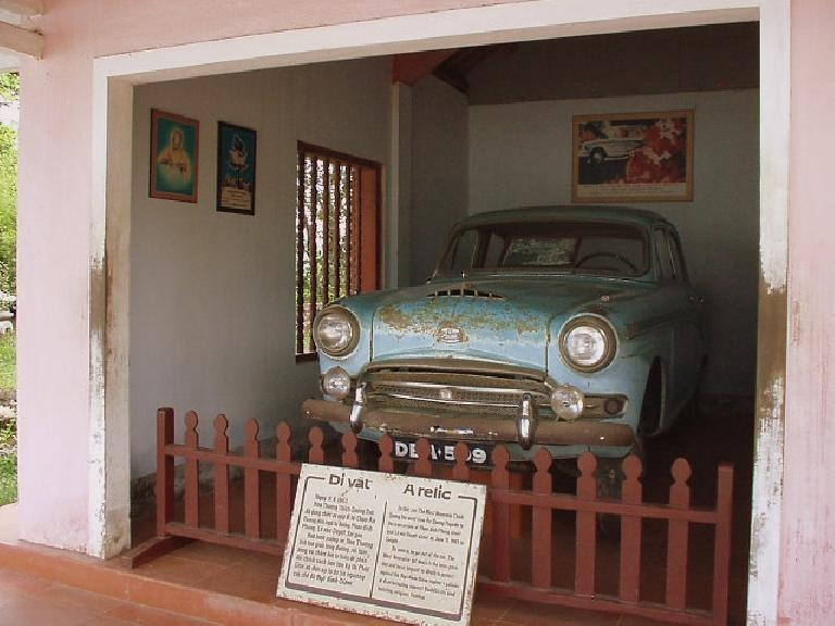 This Austin Minicar was driven by a guy who subsequently burned himself to death to protest government policies.