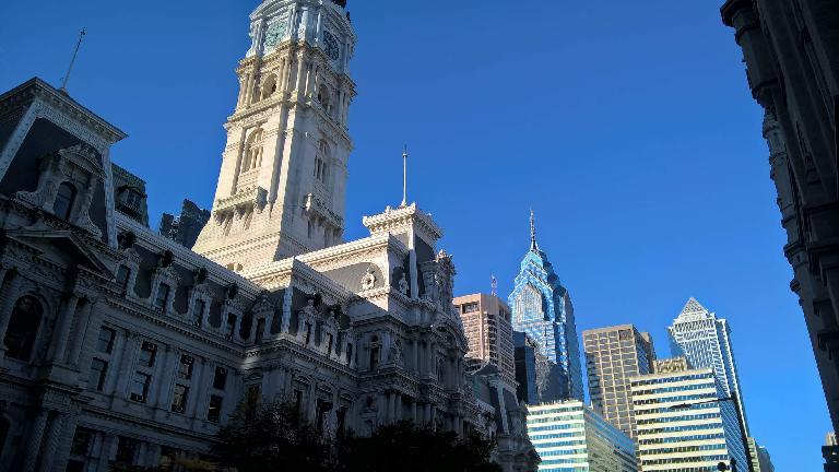 City Hall in Philadelphia, Pennsylvania.