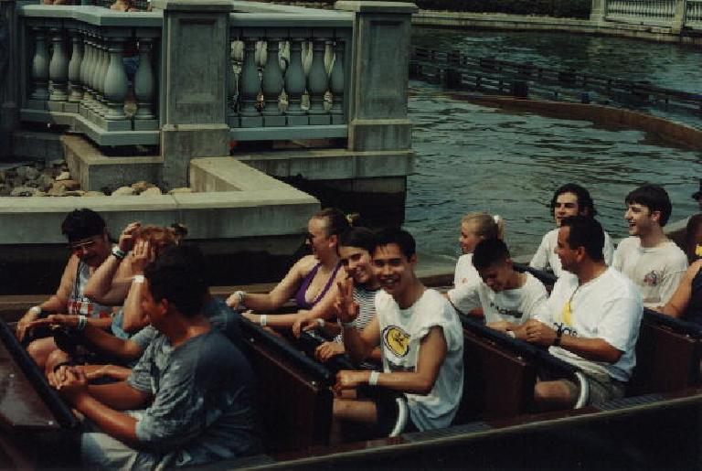 Pittsburgh Plunge at Kennywood. (July 17, 1999)