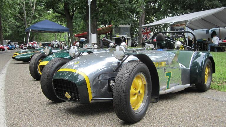 A Lotus 7.