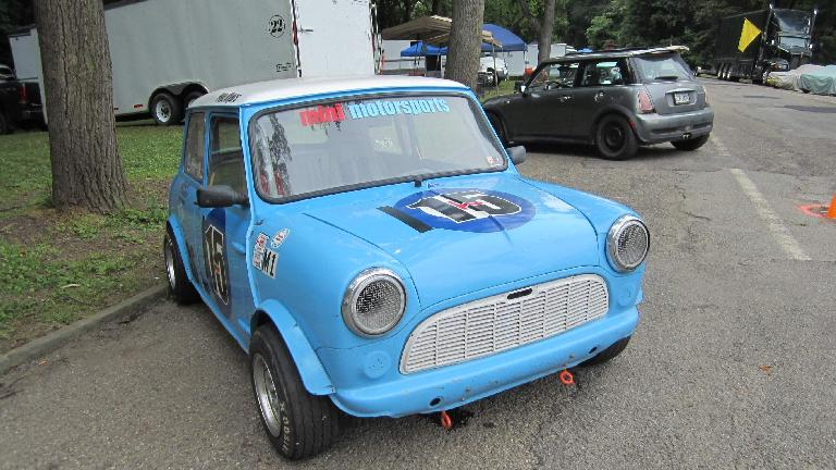 An old and new MINI.