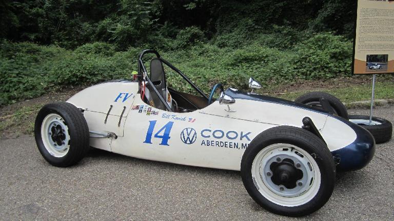 A Formula V car.