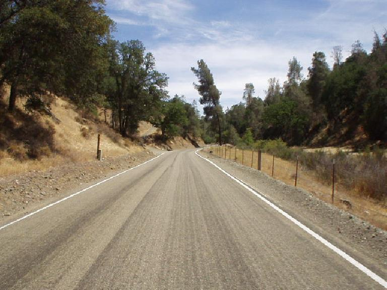 Going up Mines Rd., a designated Juan Bautista de Anza historic route.