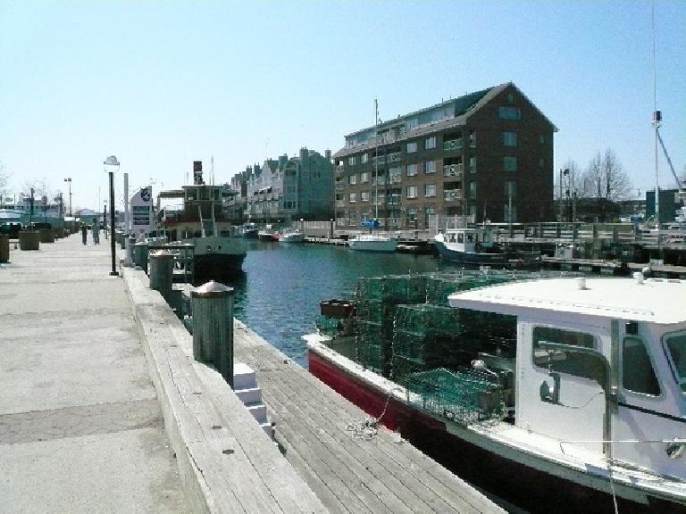The Portland Harbor.