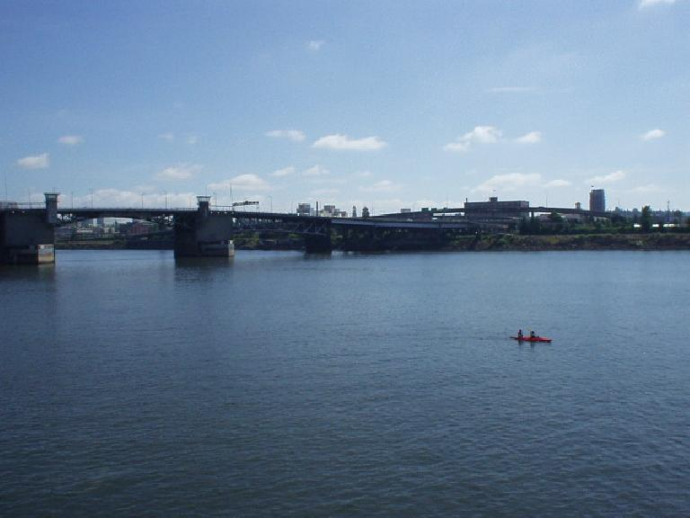The Willamette river.