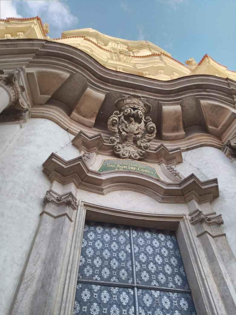 Doorway near the Vrtba Garden.