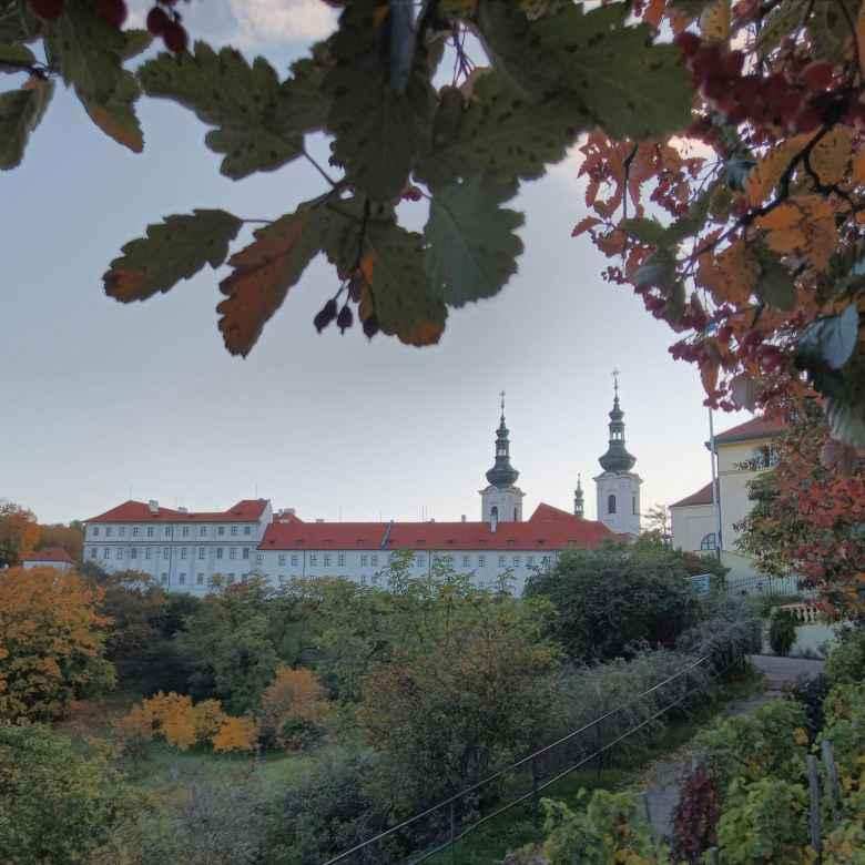 Strahov Monastery in Prague.