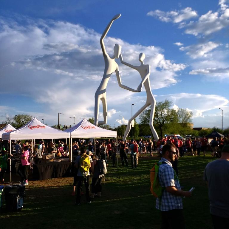 Questival Denver 2017 at Sculpture Park.
