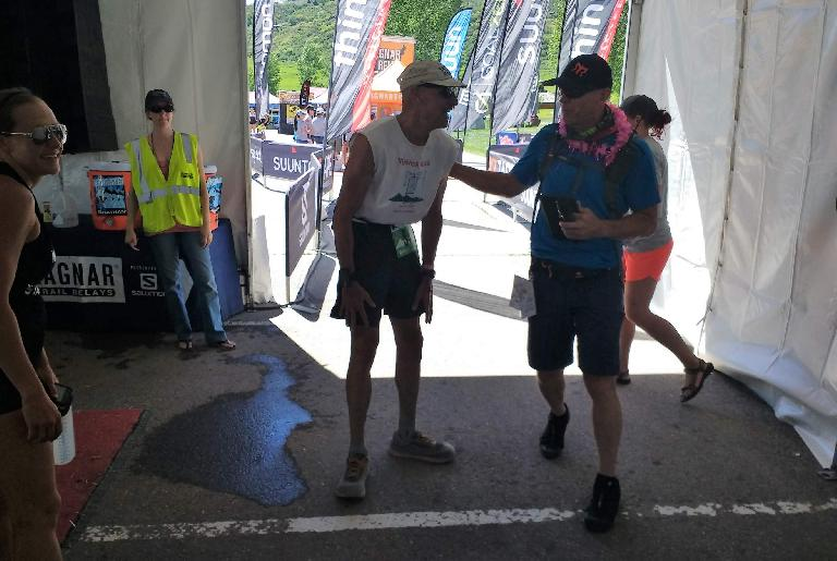 Jonathan completed the 2017 Ragnar Snowmass Trail Relay for our ultra team 23 hours and 20 minutes after we started. He was very consistent throughout all legs.