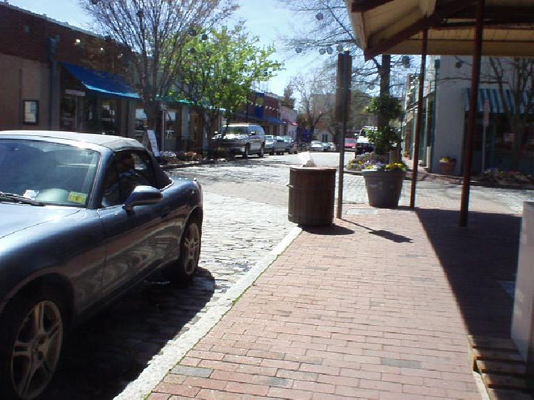 Downtown Raleigh was pretty nice but kind of lacked the youthful energy of nearby Chapel Hill's downtown.