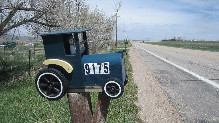 [Mile 56] I liked this mailbox.