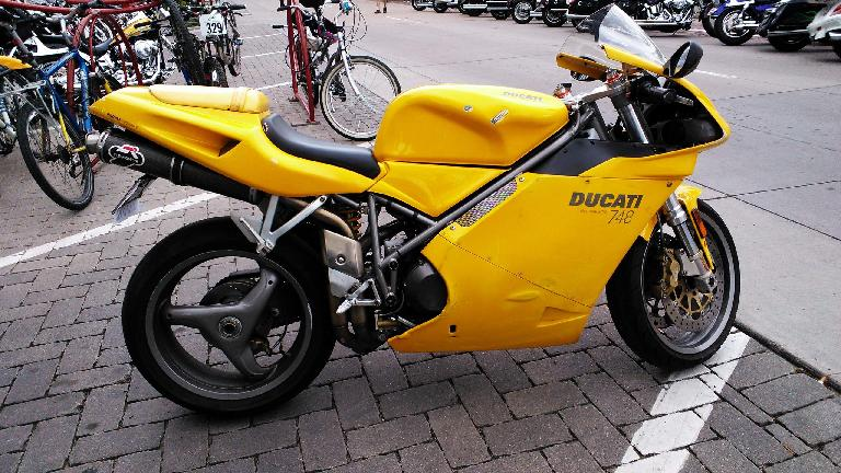 Ducati 748, something of a classic.
