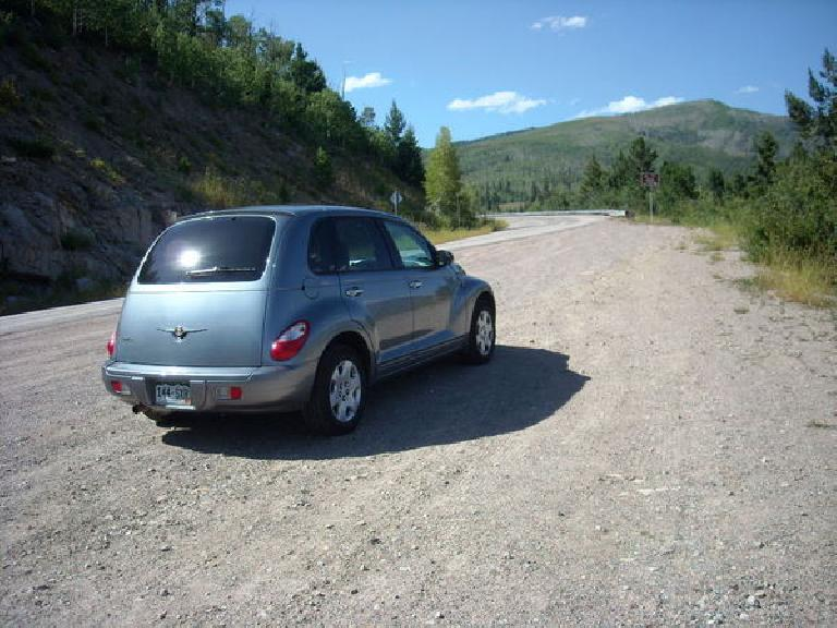 Driving a 2008 PT Cruiser to Crawford, CO. (August 7, 2009)