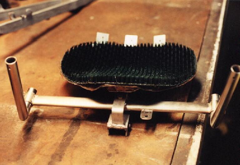 steering assembly, AstroTurf seat, Reynolds Wishbone recumbent