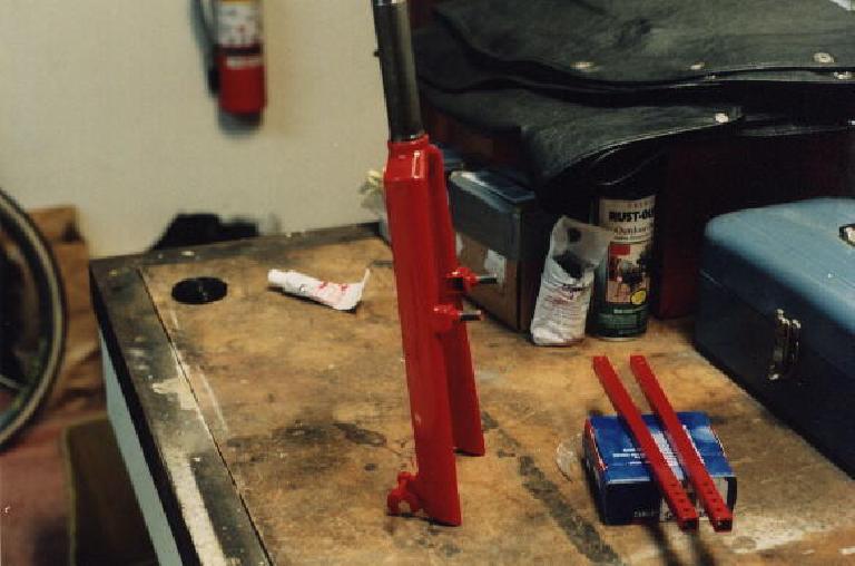 red fork, Reynolds Wishbone recumbent