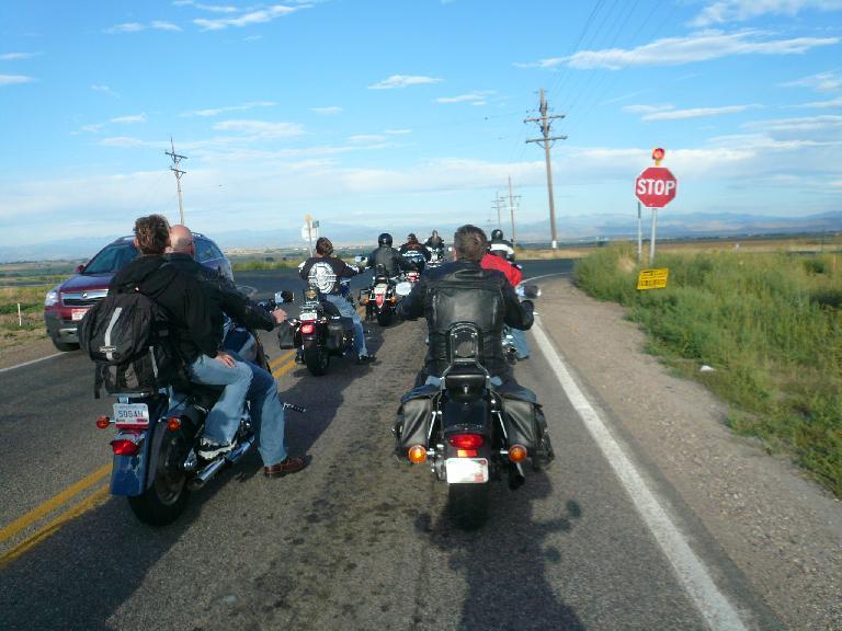 Heading through Loveland, CO.