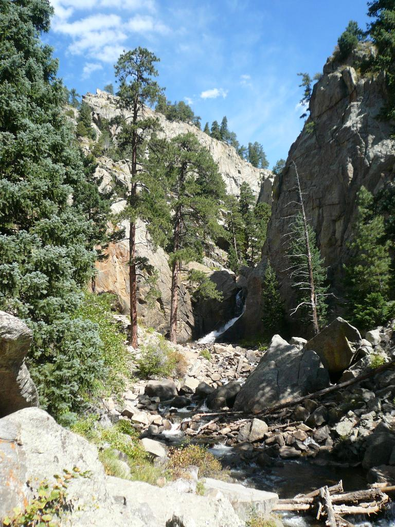 Boulder Falls was a nice rest stop.
