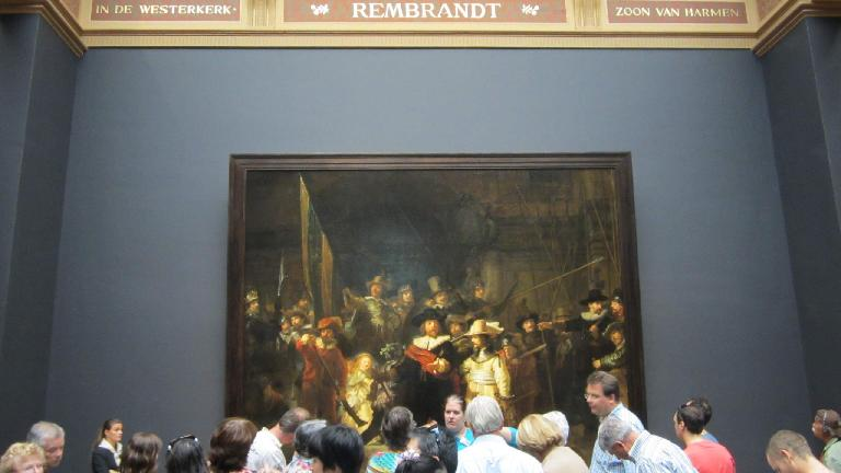 "Rembrandt's ""Night Watch."""