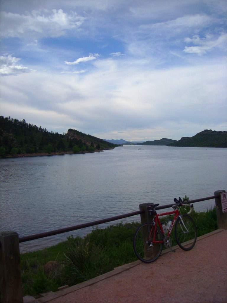 Horsetooth Reservoir.