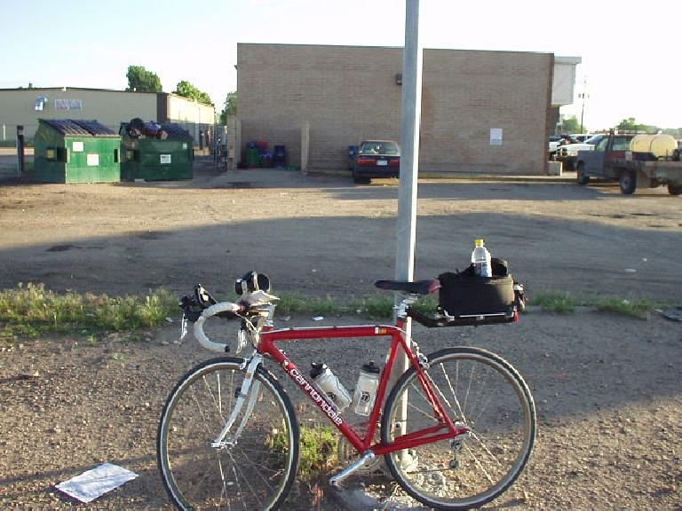 [Mile 37, 6:33am] Only 37 miles had gone by and already I had to resort to a Pepsi due to having a hard time staying awake.