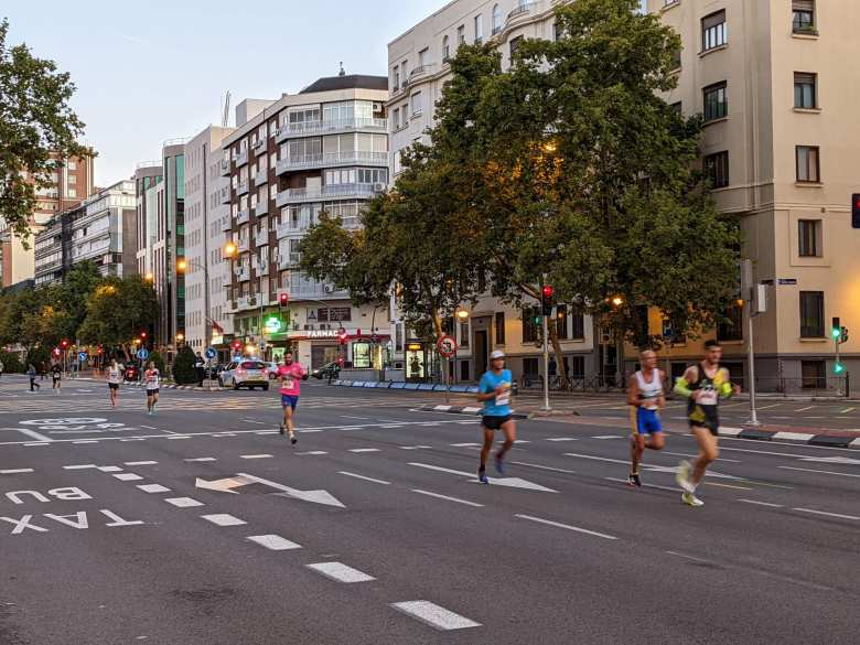 10k Runners at the Rock 'n' Roll Madrid Marathon event.