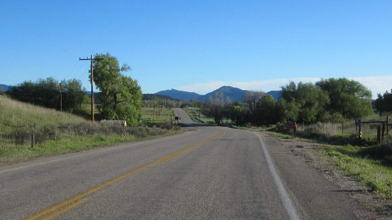 Buckhorn Road towards Masonville, Colorado