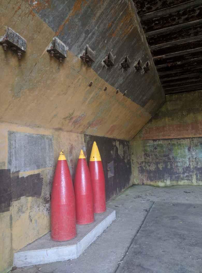 World War II bunkers at Salt Creek County Park.