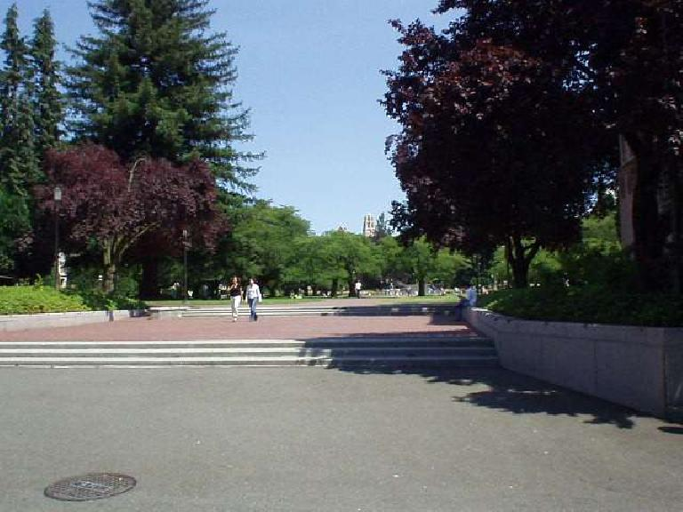 The University of Washington campus was a gorgeous campus, kind of like a small town in itself.  Unfortunately this is the only pic I have of it, of an area near the Quad.