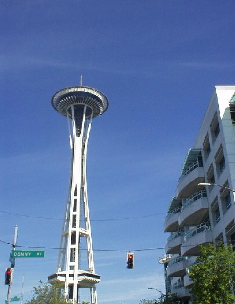 The iconic Space Needle.