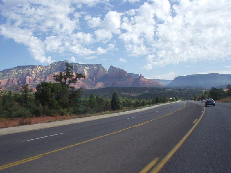 I think I took this photo driving back north to Sedona.