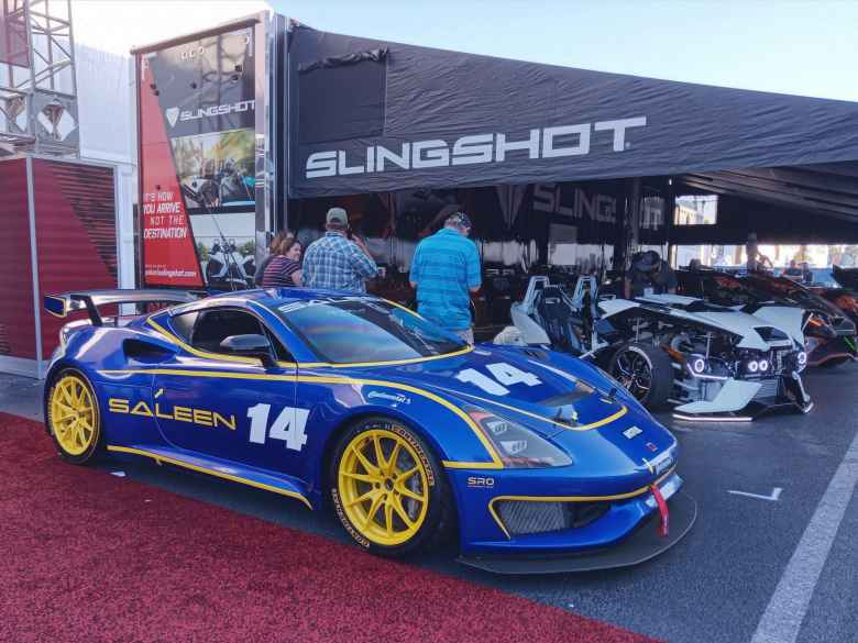 A Saleen S1 Cup Series vehicle.