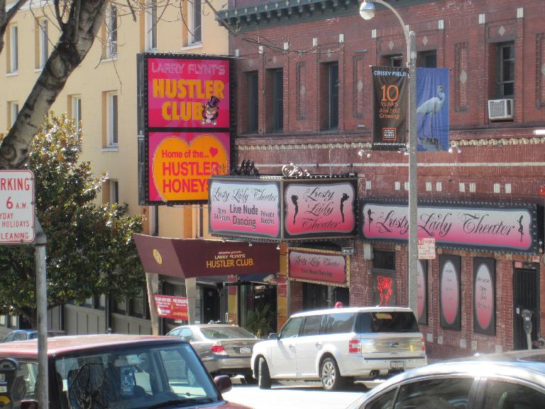 Kearny & Broadway seem to be something of a porn district!