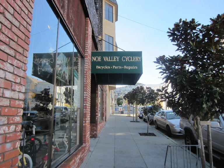Noe Valley Cyclery, where I purchased my Cannondale 3.0 back in 1993!