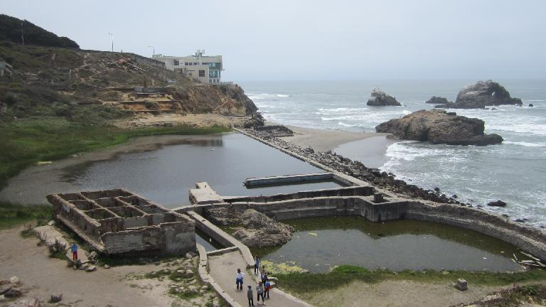 The Sutra baths.