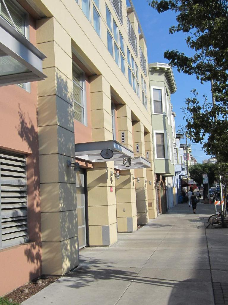 SF townhomes.