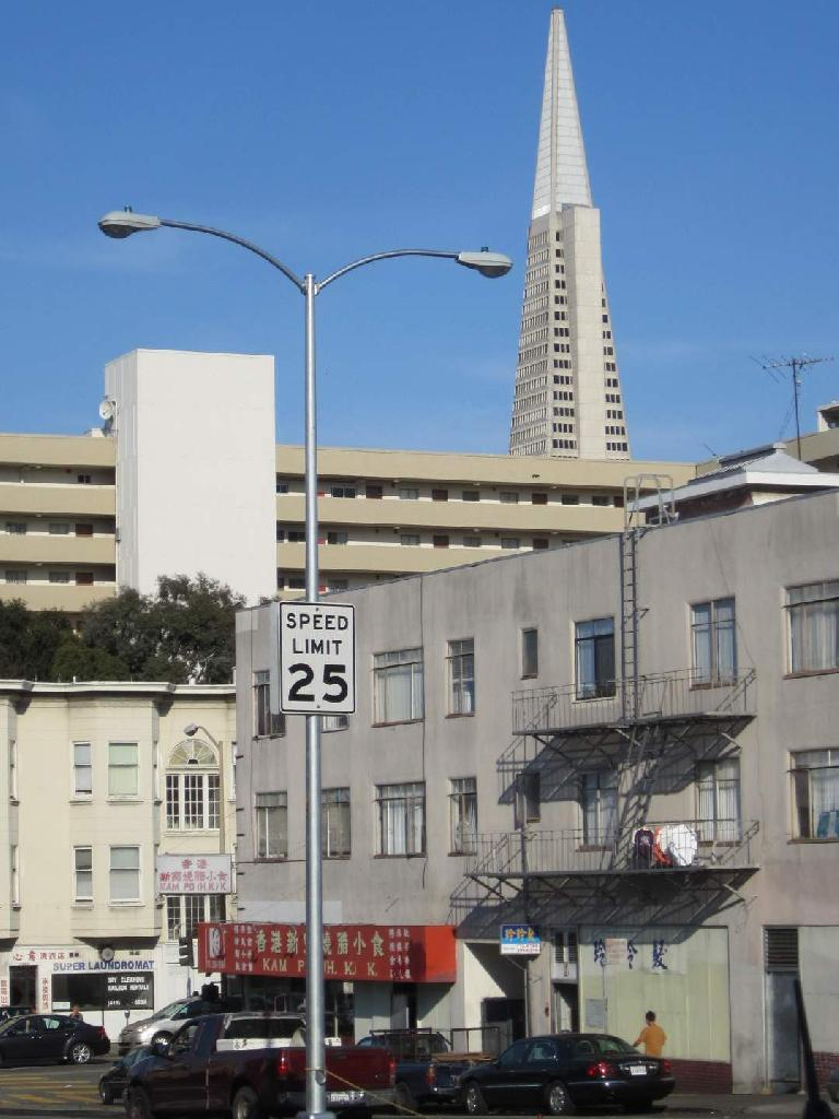 The Transamerica building.