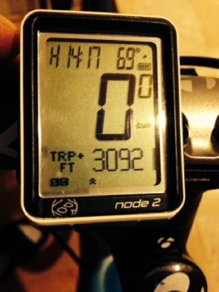 Sierra Rd. bicycle climb, 17X, 30921 feet of climbing