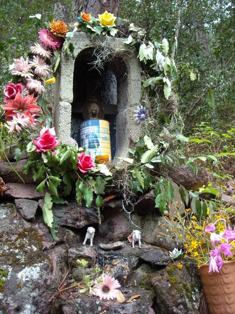 A tribute to the Virgin of Juquila,