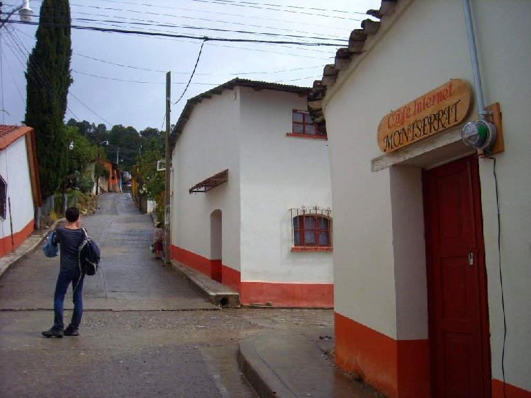 The town of Capulalpan de M̩ndez.