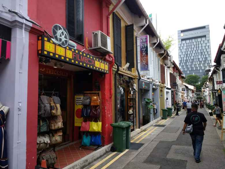 Haji Lane in Singapore.